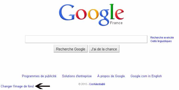 Photo of Changer l'image de fond Google