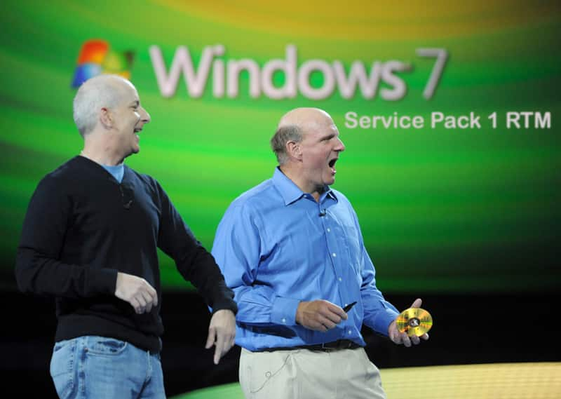 Windows 7 Service Pack 1 RTM