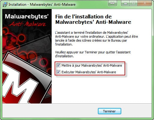 Malwarebytes Anti Malware installation Comment utiliser Malwarebytes Anti Malware ?