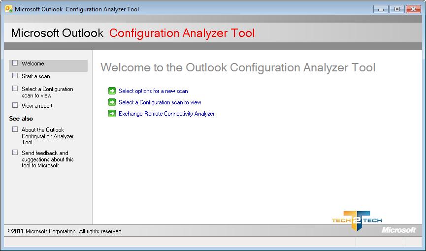 Analyser les profils outlook avec outlook configuration for Imprimer depuis outlook