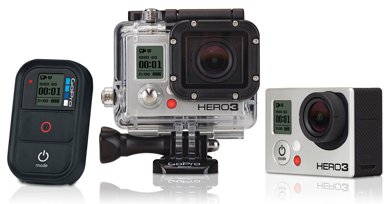 Photo of GoPro HERO3 : Plus petite et plus rapide !