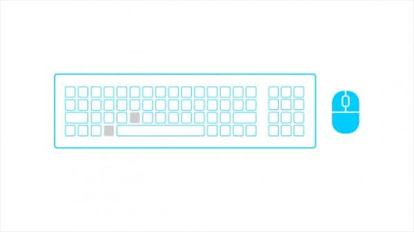 Clavier Windows 8