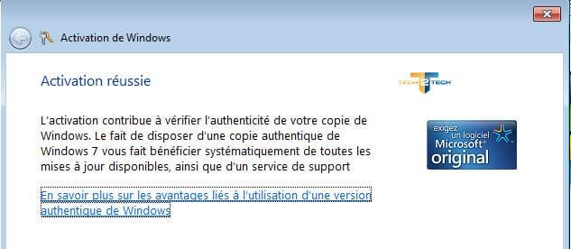 Comment downgrader de windows 8 vers windows 7 tech2tech - Cle activation office professional plus 2013 ...