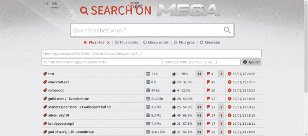 search-on-mega