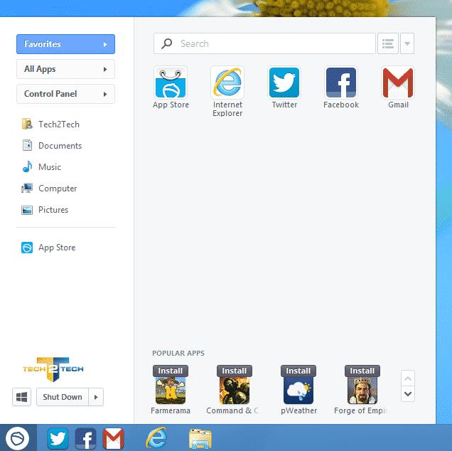 Photo of Les meilleurs menus démarrer pour Windows 8
