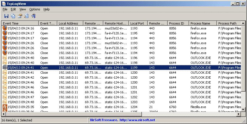 Photo of Surveillez les connexions réseaux avec TcpLogView