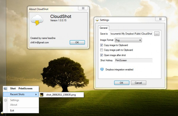 Photo of CloudShot : Envoyer directement vos screenshots sur Dropbox