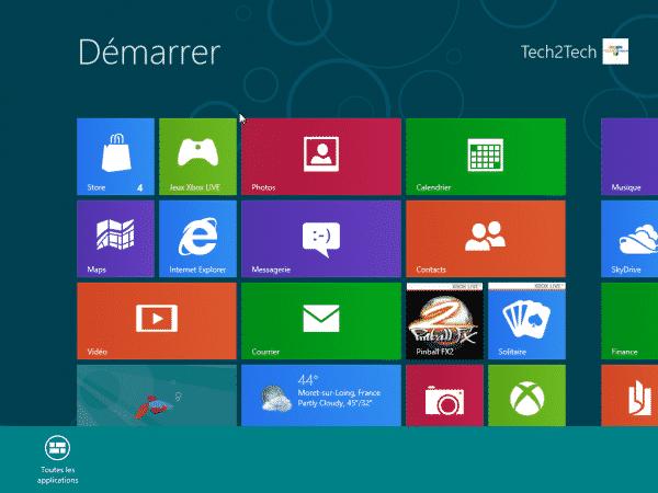 Photo of Windows 8 : Afficher toutes les applications sur Metro