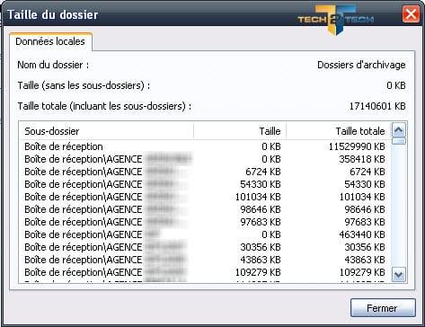 Photo of Limiter la taille des fichiers PST