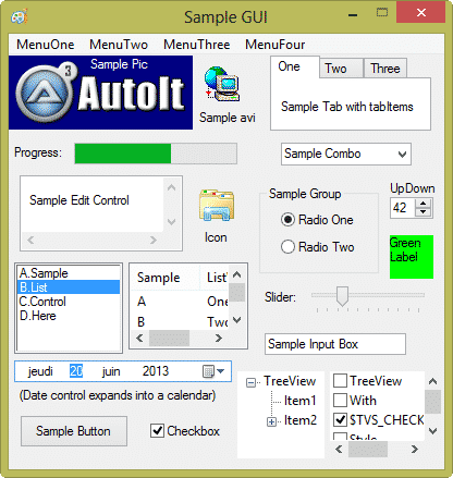 autoit-GUI