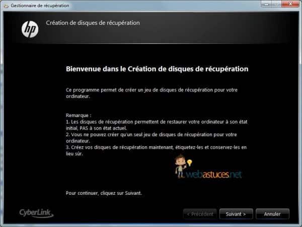 Photo of Créer de nouveau les DVD de Restauration HP ou COMPAQ