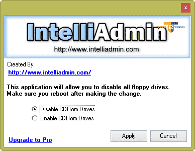 intelliadmin-desactiver-cdrom