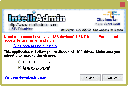 intelliadmin-desactiver-usb