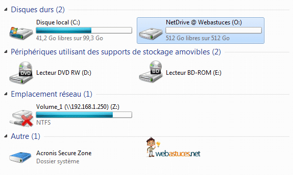 Photo of NetDrive : Mappez vos FTP sur un disque virtuel local