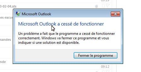 Photo of Résoudre le problème : Outlook à cessé de fonctionner