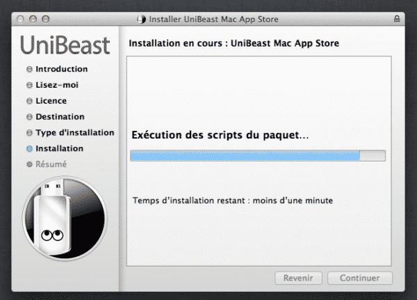 Unibeast-Installation