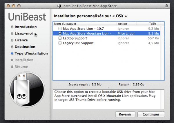 Unibeast-Type Installation