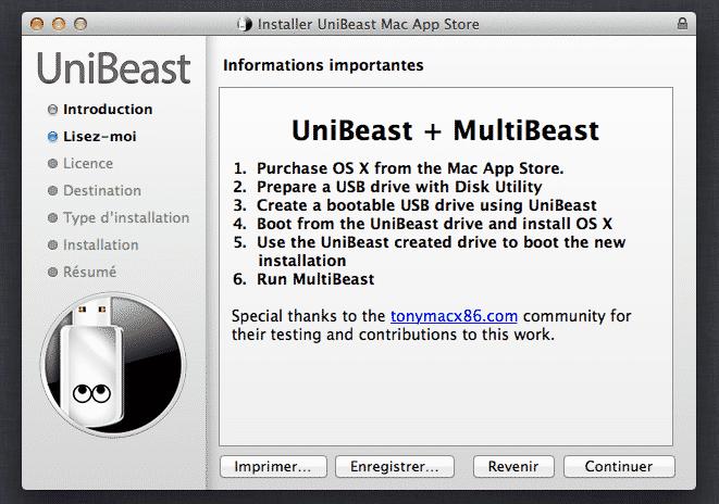 Installer mac os x sur pc vmware