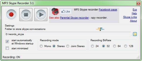 MP3 Skype Recorder2
