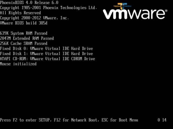 Vmware-bootscreen