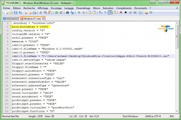 vmware-edit-bootdelay