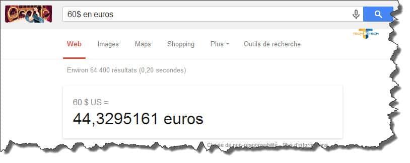 google-devises