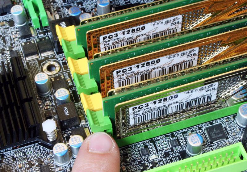 Probleme de mémoire vive ordinateur