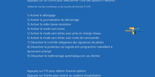 Comment accéder au mode sans échec de Windows 8 ?
