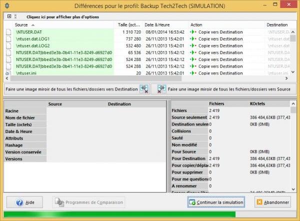 SyncBack-simulation
