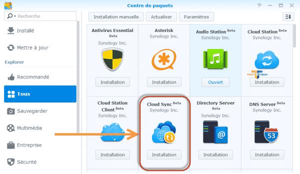 Cloud-sync-install