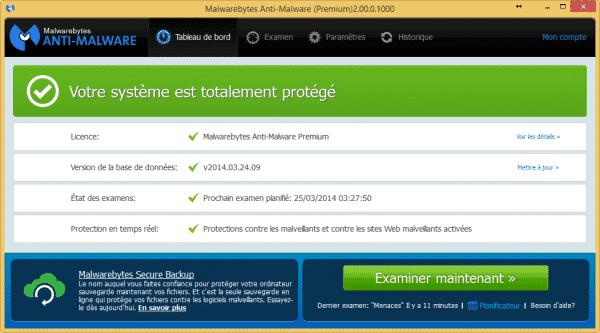 Malwarebytes Anti-Malware2