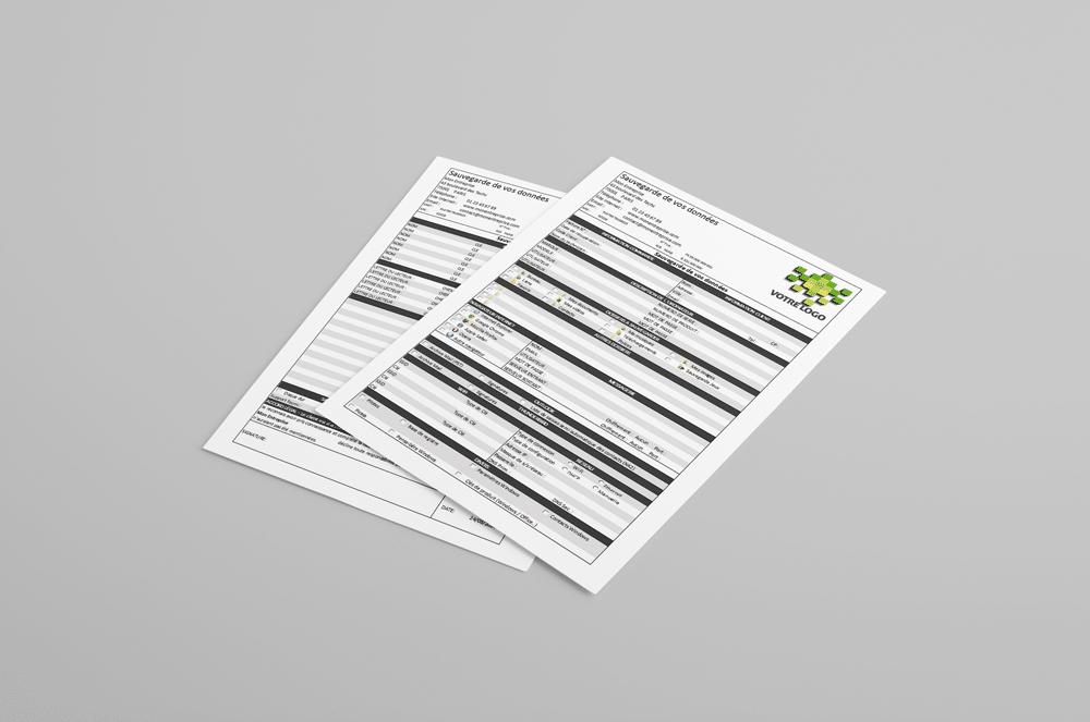 Photo of Le kit du Technicien Informatique à l'image de votre Entreprise (Kit de Documents)
