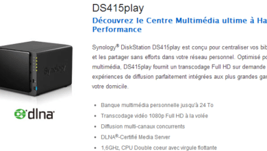 Photo de Synology lance le DS415Play