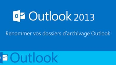 Photo de Renommer vos dossiers d'archivage sur Outlook 2013