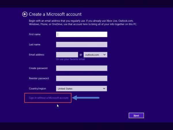 W10-Sign-without-MS-account