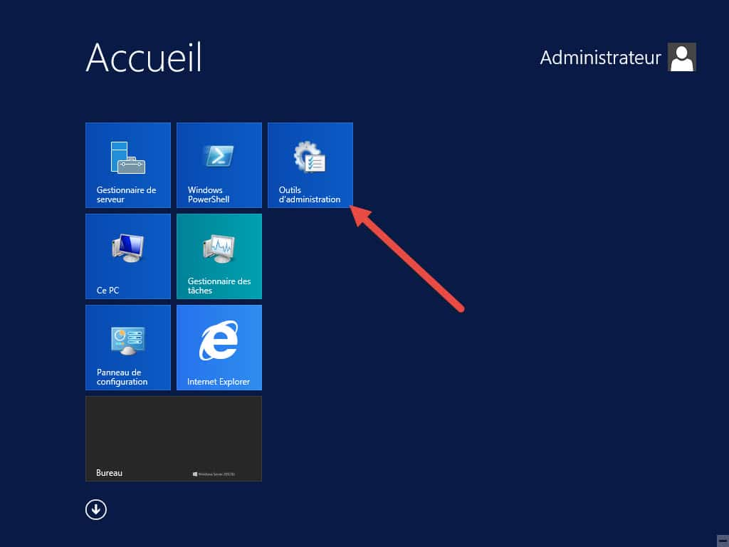 Windows Server 2012 installer des scripts d'administration iis