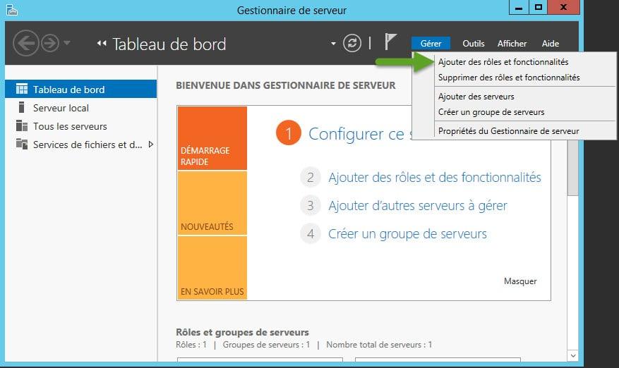 Windows Server 2012 : Installation et configuration d'un