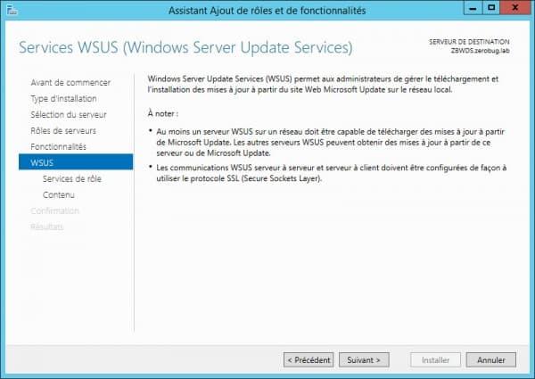 WSUS-Installation-infos