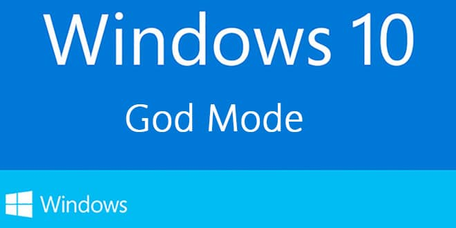 Photo of Windows 10 : God Mode ou Master Control Panel