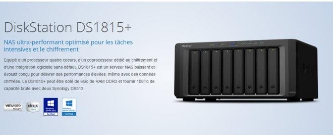 Photo of Synology dévoile les serveurs DiskStation DS1515+ et DS1815+