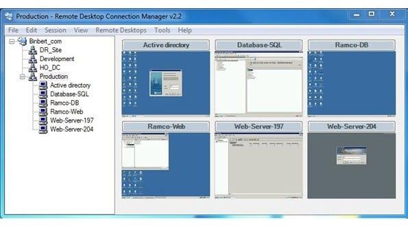 Contrôler vos serveurs depuis une seule interface avec RDCMan