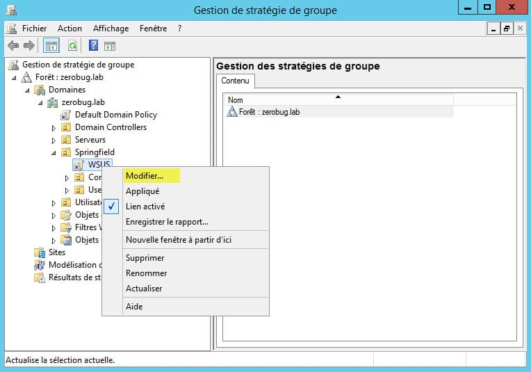 Windows server 2016 installation et configuration d un for Bloqueur de fenetre intempestive