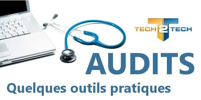 Audit client : Les outils