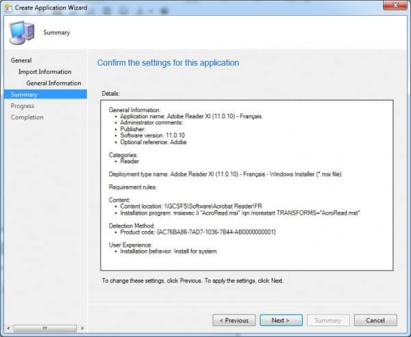 SCCM-Confirm-AdobeReader
