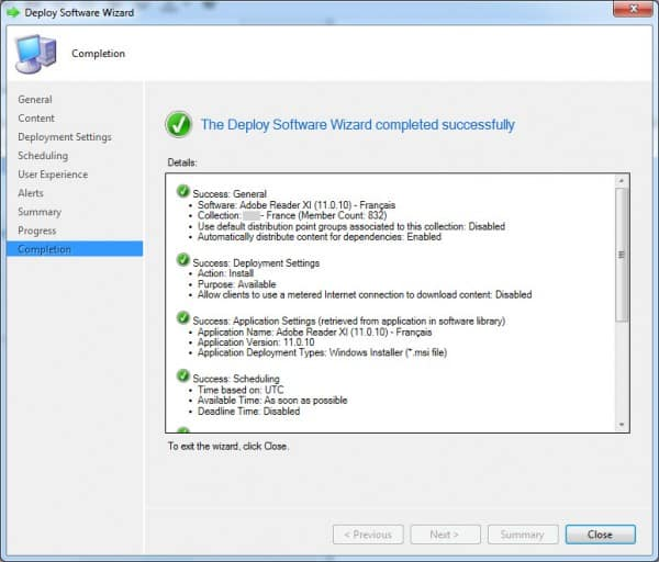 SCCM-Deploy-RDR-Finish