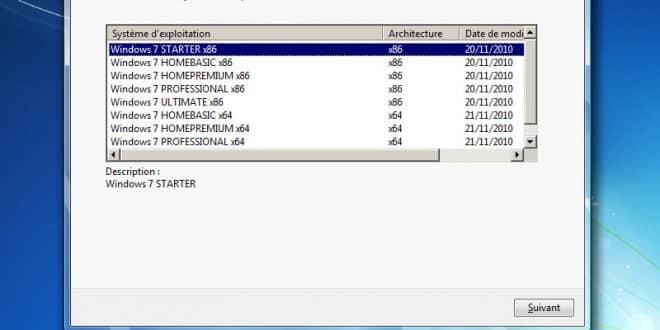 Comment créer un média d'installation de Windows 7 AIO