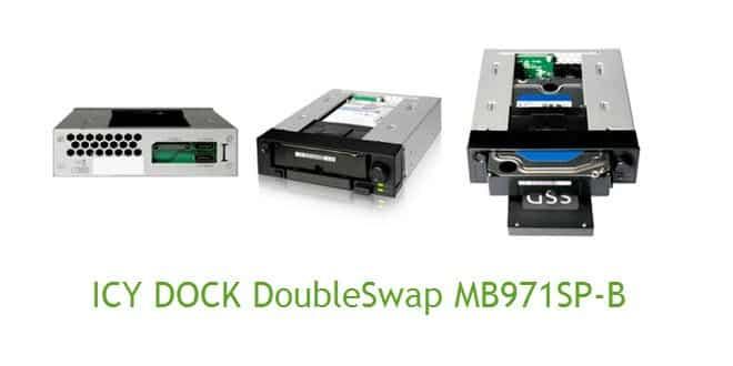 ICY DOCK DoubleSwap MB971SP-B