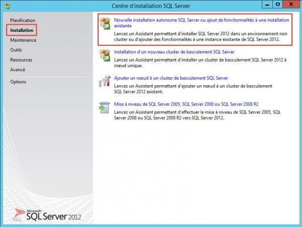 Installation-SQL