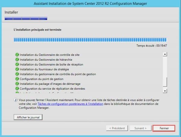 SCCM-install-termine