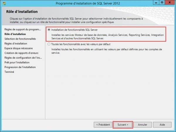 SQL-Role-installation